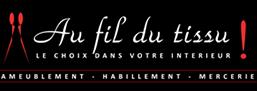 Logo AU FIL DU TISSU